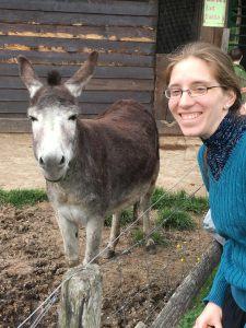 JGM & donkey at Versailles